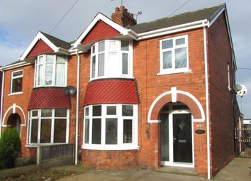 Thumbnail 3 bed semi-detached house for sale in Church Lane, Scunthorpe