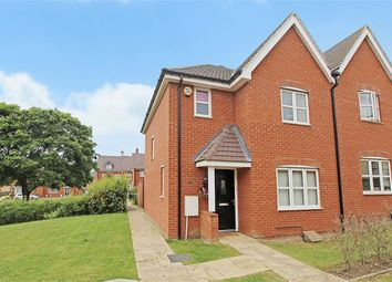 Thumbnail 3 bed semi-detached house for sale in Bushfield Court, Shortstown, Bedford