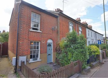 Thumbnail 2 bedroom end terrace house for sale in Old Park Road, Hitchin
