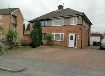Thumbnail 3 bed semi-detached house for sale in Orbital Crescent, Watford, Herts