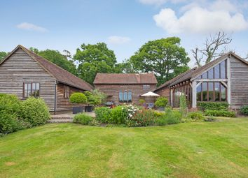 Thumbnail 4 bed barn conversion for sale in Mill Lane, Lower Beeding, Horsham