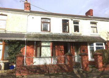 Thumbnail 3 bed terraced house for sale in Pen Y Bryn Terrace, Brynmenyn, Bridgend, Mid Glamorgan