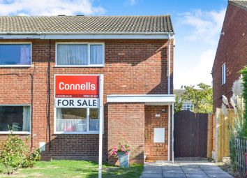 Thumbnail 2 bed semi-detached house for sale in Westhill, Stantonbury, Milton Keynes