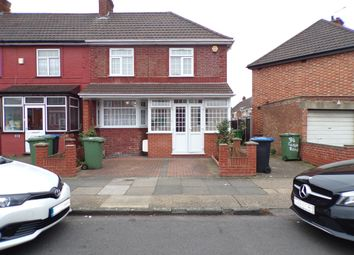 Thumbnail 3 bed end terrace house for sale in Carlyon Road, Wembley
