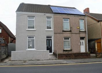 Thumbnail 3 bed semi-detached house for sale in Middle Road, Swansea