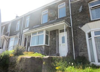 Thumbnail 3 bedroom terraced house to rent in Sea View Terrace, Mount Pleasant, Swansea.
