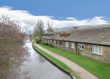 Thumbnail 2 bed terraced house for sale in Aire View, Sandbeds, Keighley, West Yorkshire