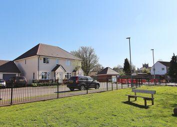 Thumbnail 3 bed semi-detached house for sale in Claudius Road, Keynsham, Bristol