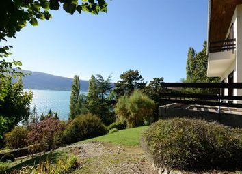 Thumbnail 6 bed property for sale in Menthon Saint Bernard, Haute-Savoie, France