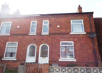 Thumbnail 2 bed end terrace house to rent in Gladstone Street, Mansfield