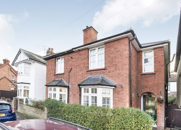 Thumbnail 3 bed semi-detached house for sale in Thames Street, Walton-On-Thames