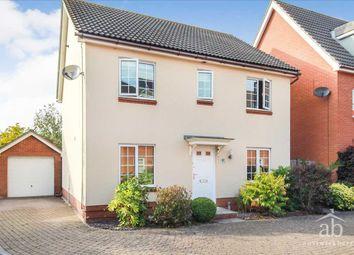 Thumbnail 4 bed detached house for sale in Spindler Close, Grange Farm, Kesgrave, Ipswich