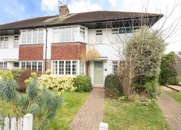 Thumbnail 2 bed maisonette for sale in Castleview Road, Weybridge, Surrey