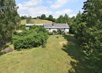 Thumbnail Land for sale in Llanbister, Llandrindod Wells