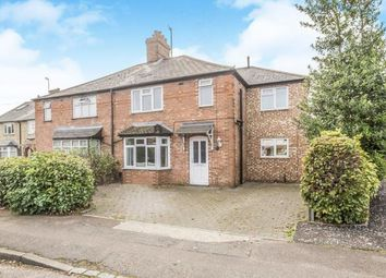 Thumbnail 4 bed semi-detached house for sale in Baldock Road, Stotfold, Hitchin, Bedfordshire