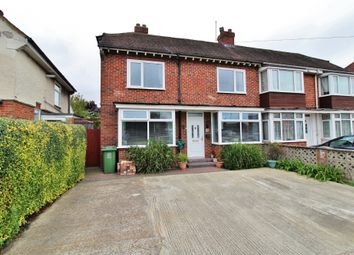 Thumbnail 3 bedroom semi-detached house for sale in Tudor Crescent, Cosham, Portsmouth