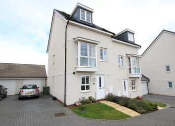 Thumbnail 3 bed town house for sale in Newcourt Way, The Rydons, Exeter