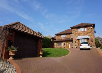 Thumbnail 4 bed detached house for sale in Llwynderw Drive, West Cross, Swansea