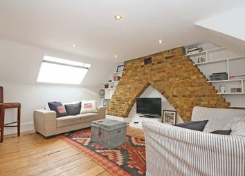 Thumbnail 1 bed flat to rent in Santos Road, London