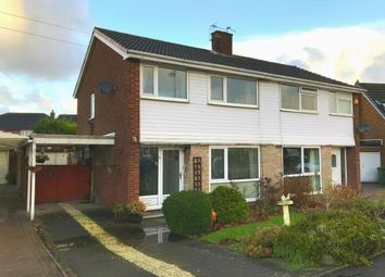 Thumbnail 3 bed semi-detached house for sale in Parkland Close, Appleton Thorn, Warrington, Cheshire