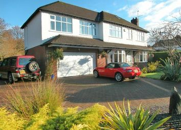 Thumbnail 5 bed detached house for sale in Grasmere Road, Little Neston, Cheshire