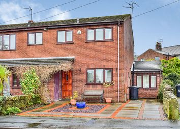3 bed semi-detached house for sale in Riverbank Close, Bollington, Macclesfield, Cheshire SK10