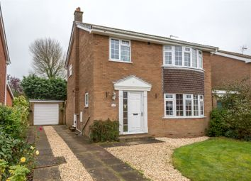 Thumbnail 4 bed detached house for sale in The Fir Trees, Thorpe Willoughby, Selby