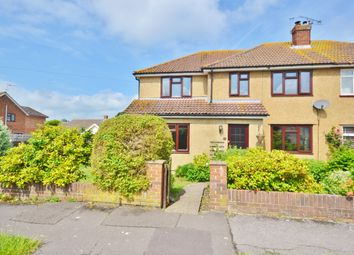 Thumbnail 5 bed semi-detached house for sale in Meadow Way, Didcot
