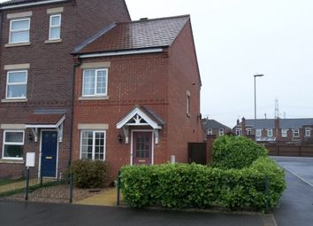 Thumbnail 2 bed end terrace house to rent in Pippin Close, Misterton, Doncaster