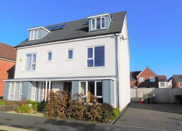 4 bed semi-detached house for sale in Hemlock Road, Coalville LE67