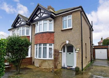 Thumbnail 3 bed semi-detached house for sale in Bramley Road, Worthing, West Sussex