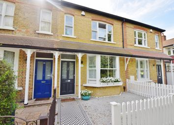 Thumbnail 4 bed terraced house to rent in Burtons Road, Hampton Hill