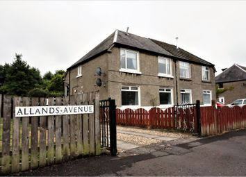Thumbnail 1 bed flat for sale in Allands Avenue, Renfrew