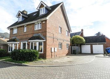 Thumbnail 5 bed detached house for sale in Medina Square, Epsom