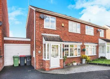 Thumbnail 3 bedroom semi-detached house for sale in Temple Way, Coleshill, Birmingham, Warwickshire