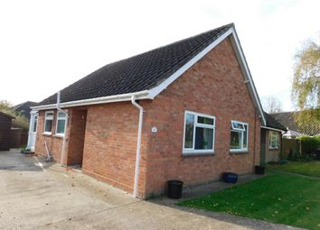Thumbnail 2 bed semi-detached bungalow for sale in The Chestnuts, Great Finborough, Stowmarket