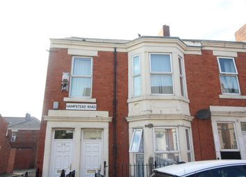 Thumbnail 2 bedroom flat for sale in Hampstead Road, Benwell, Newcastle Upon Tyne