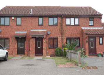 Thumbnail 2 bedroom terraced house to rent in Swift Close, St. Neots
