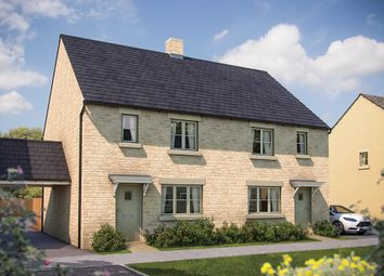 "Thumbnail 3 bed semi-detached house for sale in ""The Dorn"" at Todenham Road, Moreton-In-Marsh"