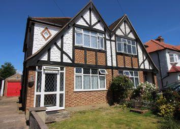 Thumbnail 3 bed semi-detached house for sale in Belfield Road, Epsom