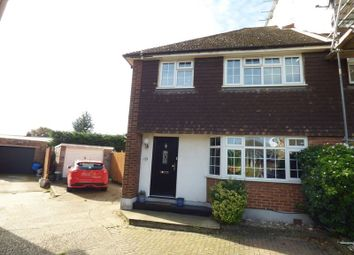 Thumbnail 3 bed semi-detached house for sale in Haven Close, Swanley