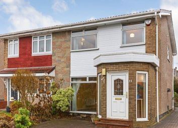 Thumbnail 3 bed semi-detached house for sale in David Place, Garrowhill