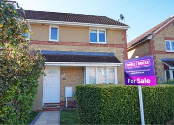 Thumbnail 2 bed terraced house for sale in Stepney Close, Crawley