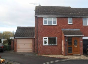 Thumbnail 2 bed semi-detached house to rent in Highgrove Bank, Ledbury Road, Hereford