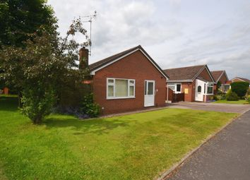 Thumbnail 2 bed detached bungalow for sale in Orchard Rise, Market Drayton