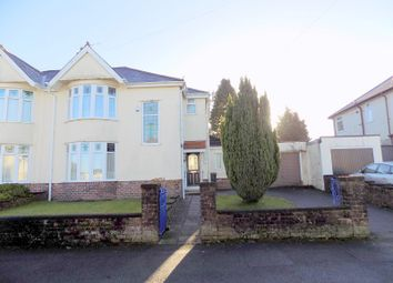 Thumbnail 3 bed semi-detached house for sale in Poplars Avenue, Neath, Neath Port Talbot.