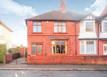 Thumbnail 3 bed semi-detached house for sale in West End Avenue, Leek