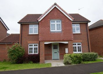 Thumbnail 4 bed detached house for sale in Hardwick Drive, Gwersyllt, Wrexham