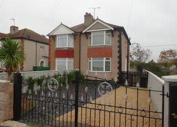 Thumbnail 2 bed semi-detached house to rent in Rhyl Coast Road, Rhyl