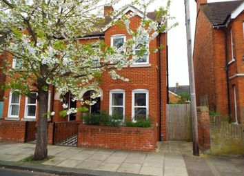 Thumbnail 3 bed semi-detached house for sale in Campbell Road, Bedford, Bedfordshire